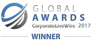 Global Awards CorporateLiveWire 2017 Winner