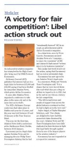 PLC v Aviation News Ltd