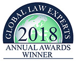Global Law Experts 2018 Annual Awards Winner