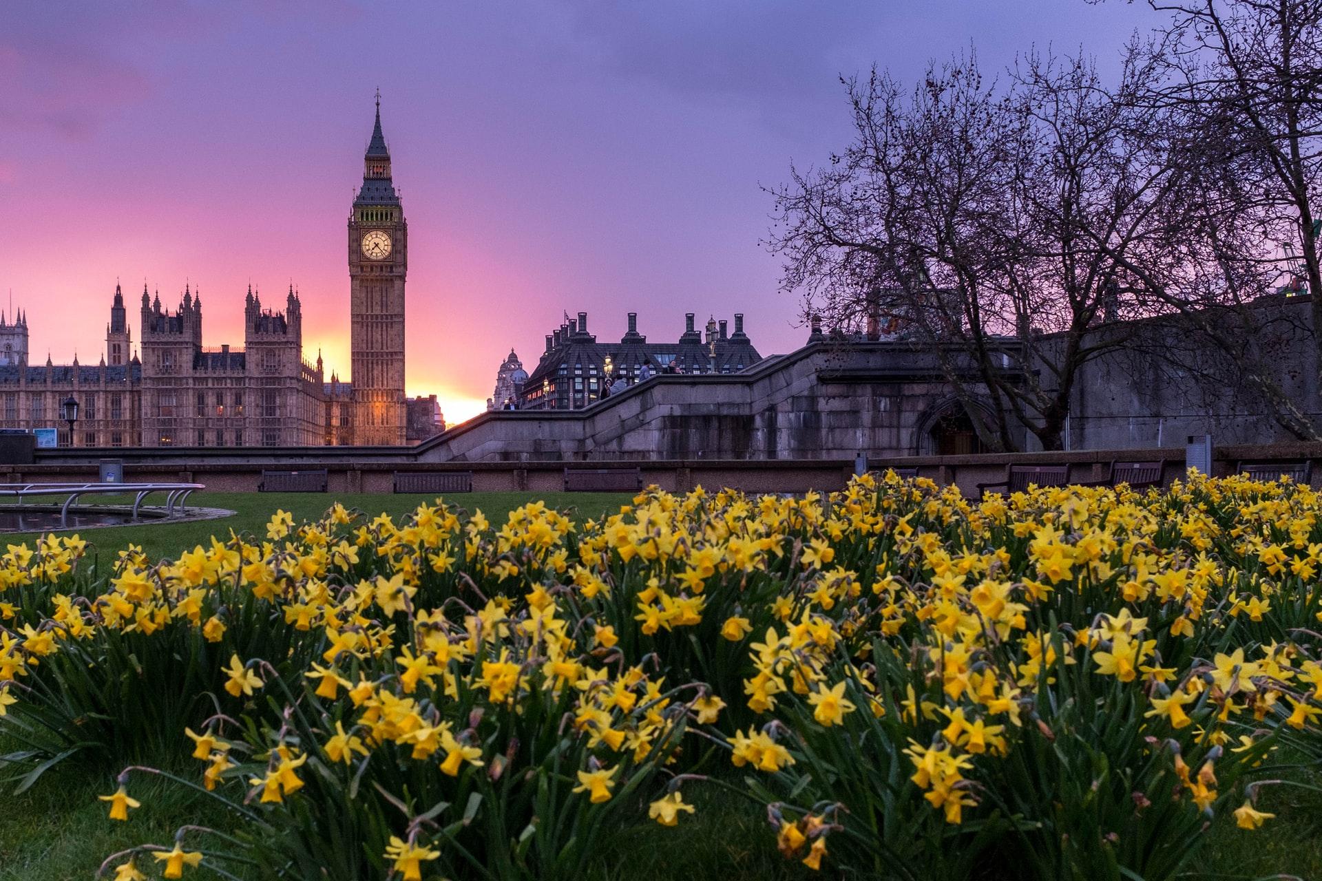 Photo of Big Ben in London UK